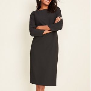 Ann Taylor NWT Boatneck Stretch Suit Dress✨
